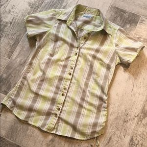 Columbia Button-Up Top
